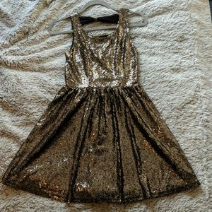 NWT sequined holiday dress